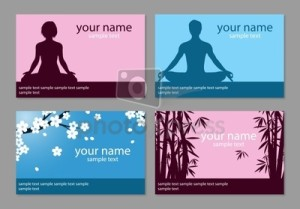 yoga biz card